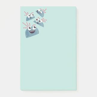 Kawaii Cute Cartoon Candy Friends Kids Post-it Notes