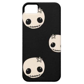 Kawaii cute goth girly skull emo skulls pattern iPhone 5 cases