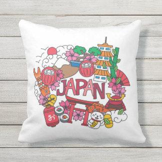 Kawaii Cute Japan! Outdoor Pillow