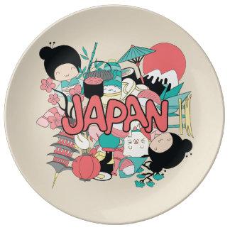 Kawaii Cute Japan! Porcelain Plates