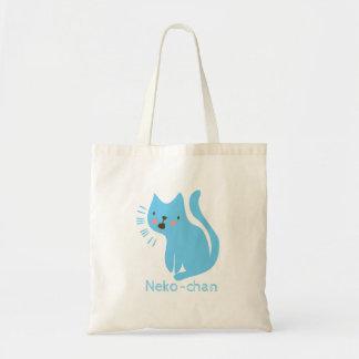 Kawaii Cute Little Kitty Kitten Cat. Add Name. Tote Bag
