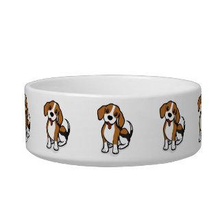 Kawaii Cute Little Puppy Dog. Beagle! Bowl