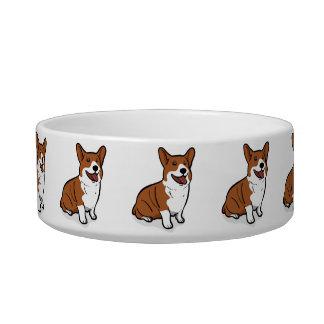 Kawaii Cute Little Puppy Dog. Corgi! Bowl