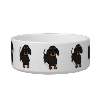 Kawaii Cute Little Puppy Dog. Dachshund! Bowl