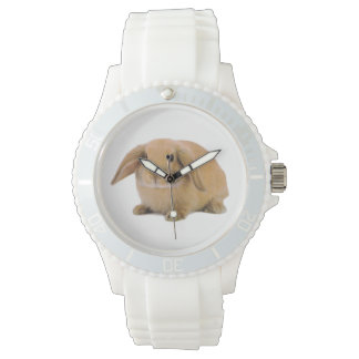 Kawaii Cute Lop Bunny Rabbit Watch