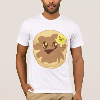 Kawaii Cute Pancakes Cartoon T-Shirt