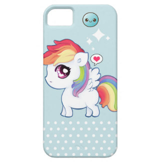 Kawaii cute rainbow pony iPhone 5 cases