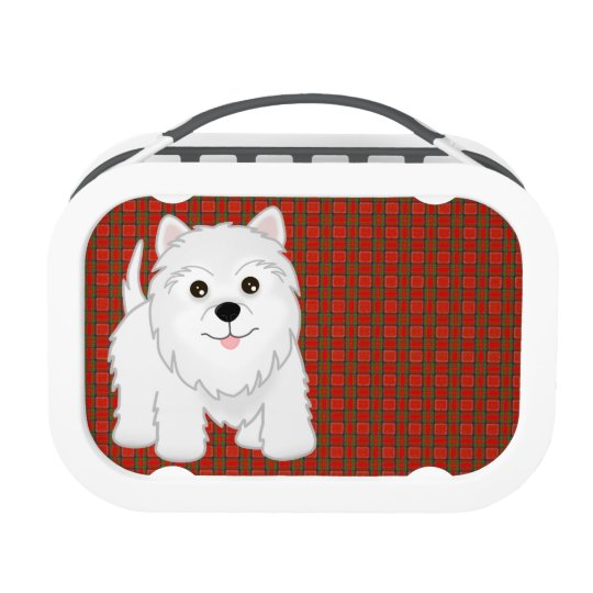 Kawaii Cute West Highland White Terrier Puppy Dog Lunchboxes