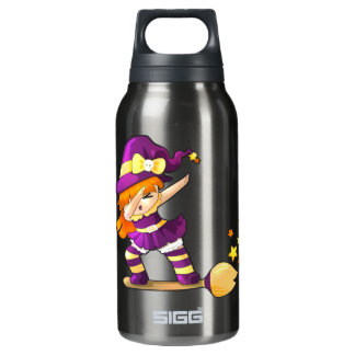 Kawaii Dabbing Witch Insulated Water Bottle