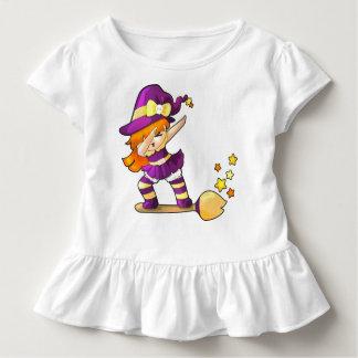 Kawaii Dabbing Witch Toddler T-shirt