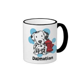 Kawaii Dalmatian & Fire Hydrant Mug