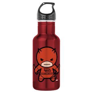 Kawaii Daredevil With Paired Short Sticks 532 Ml Water Bottle