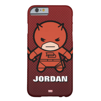 Kawaii Daredevil With Paired Short Sticks Barely There iPhone 6 Case