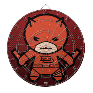 Kawaii Daredevil With Paired Short Sticks Dartboard