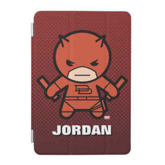 Kawaii Daredevil With Paired Short Sticks iPad Mini Cover