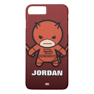 Kawaii Daredevil With Paired Short Sticks iPhone 8 Plus/7 Plus Case