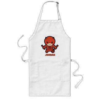 Kawaii Daredevil With Paired Short Sticks Long Apron