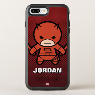 Kawaii Daredevil With Paired Short Sticks OtterBox Symmetry iPhone 8 Plus/7 Plus Case