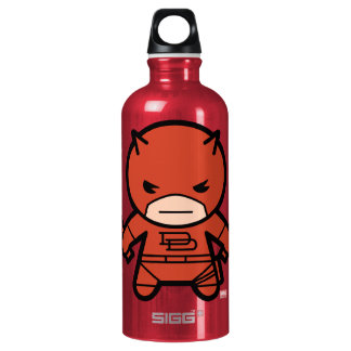 Kawaii Daredevil With Paired Short Sticks Water Bottle