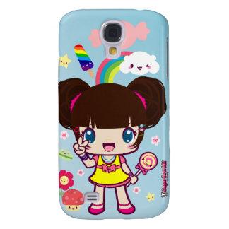Kawaii Decora Girl Yuriko Galaxy S4 Case