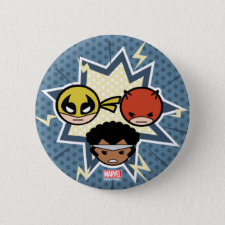 Kawaii Defenders 2 Inch Round Button