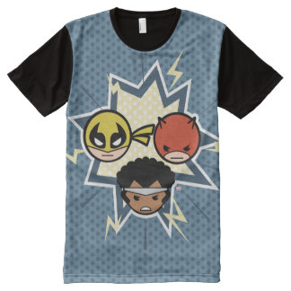 Kawaii Defenders All-Over-Print T-Shirt