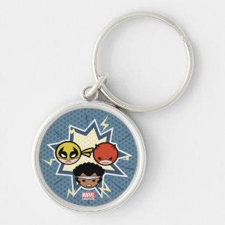 Kawaii Defenders Keychain