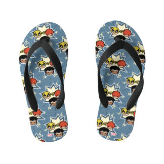 Kawaii Defenders Kid's Flip Flops