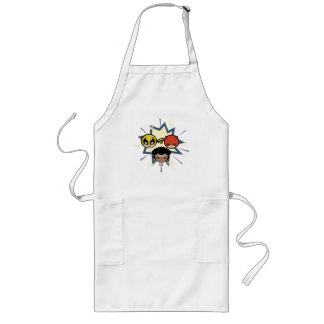 Kawaii Defenders Long Apron