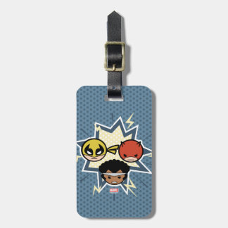 Kawaii Defenders Luggage Tag