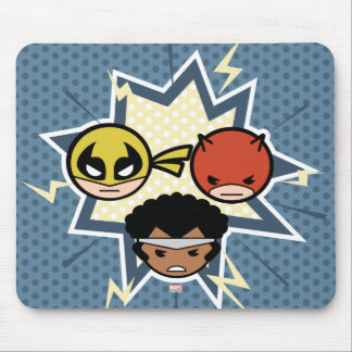 Kawaii Defenders Mouse Pad