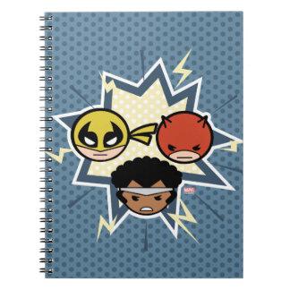 Kawaii Defenders Notebook