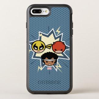 Kawaii Defenders OtterBox Symmetry iPhone 8 Plus/7 Plus Case