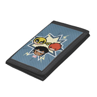 Kawaii Defenders Tri-fold Wallets