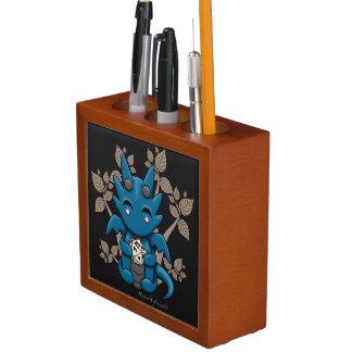 Kawaii Dice Dragon Desk Pencil Organizer