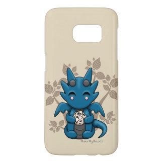 Kawaii Dice Dragon Samsung Galaxy Phone Case