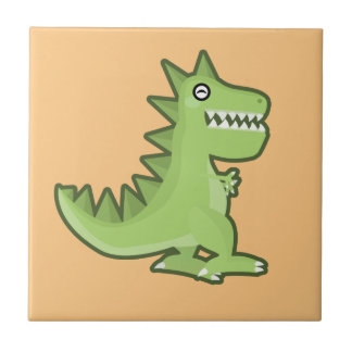 Kawaii Dinosaur Tile