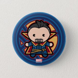 Kawaii Doctor Strange Emblem 2 Inch Round Button