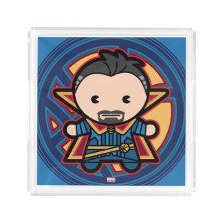 Kawaii Doctor Strange Emblem Acrylic Tray