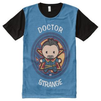 Kawaii Doctor Strange Emblem All-Over-Print T-Shirt