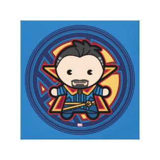 Kawaii Doctor Strange Emblem Canvas Print