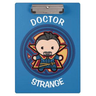 Kawaii Doctor Strange Emblem Clipboard