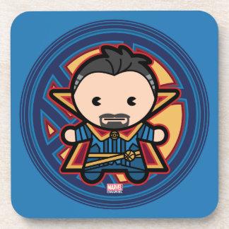 Kawaii Doctor Strange Emblem Coaster
