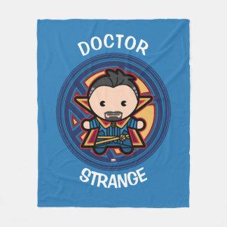 Kawaii Doctor Strange Emblem Fleece Blanket