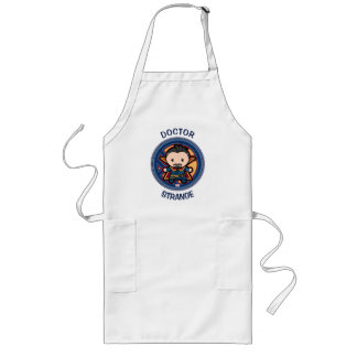 Kawaii Doctor Strange Emblem Long Apron