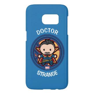 Kawaii Doctor Strange Emblem Samsung Galaxy S7 Case