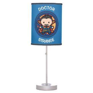 Kawaii Doctor Strange Emblem Table Lamp