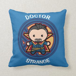 Kawaii Doctor Strange Emblem Throw Pillow