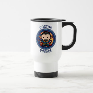 Kawaii Doctor Strange Emblem Travel Mug