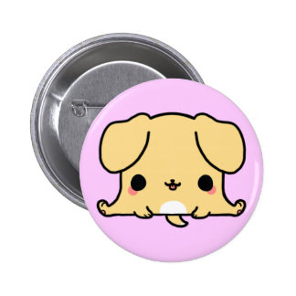 Kawaii Dog (You change the Background!) 2 Inch Round Button